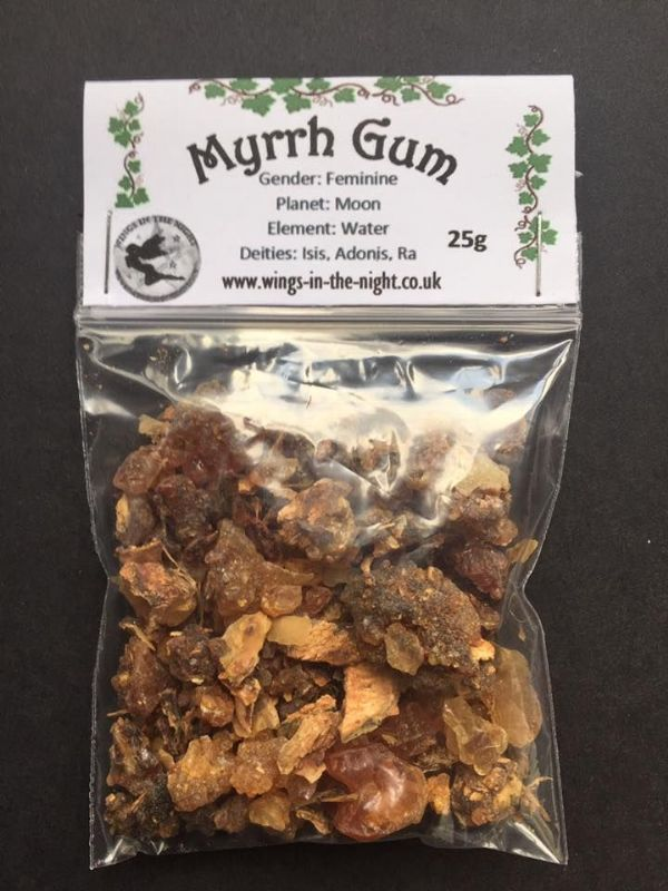 MYRRH Gum Incense Resin 25g